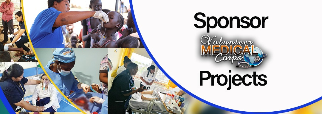 Sponsor Volunteer Medical Corps Projects