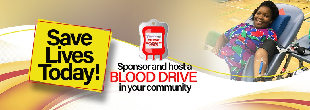 Sponsor and host a Blood Drive in your Community
