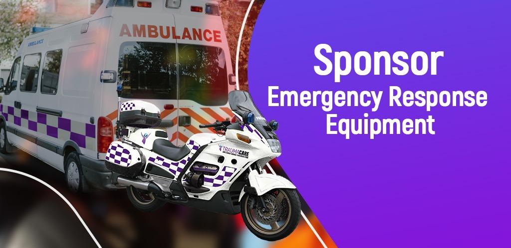 Sponsor Emergency Response Equipment