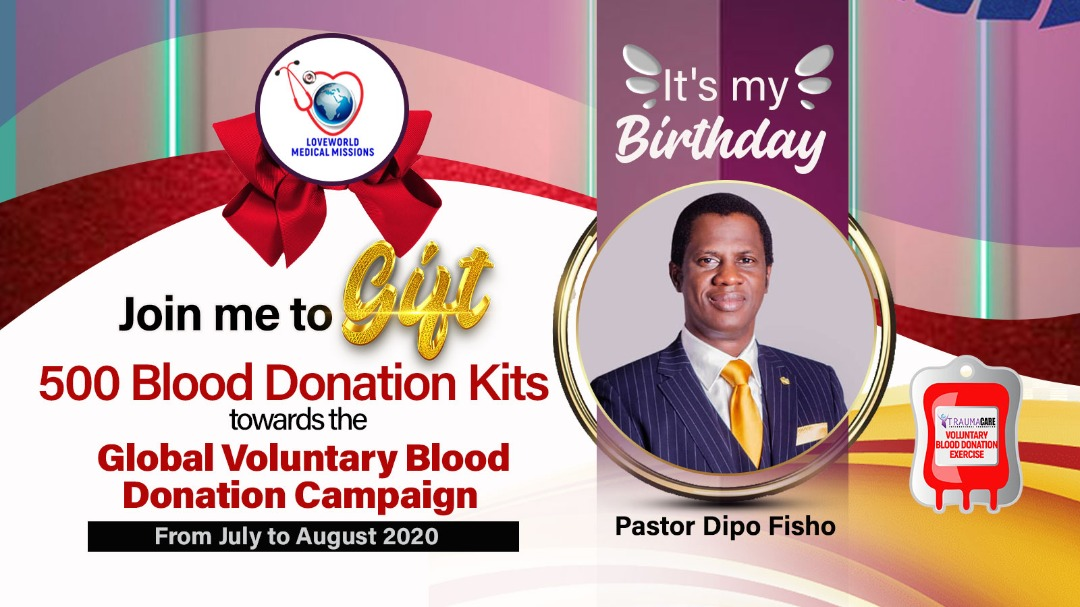 Pastor Dipo Fisho Birthday Campaign